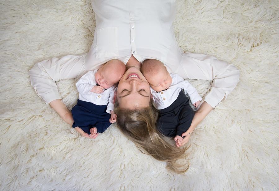 Zwillinge - Neugeborenenfotos-3